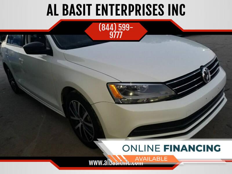 2016 Volkswagen Jetta for sale at AL BASIT ENTERPRISES INC in Riverside CA