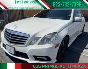 2011 Mercedes-Benz E-Class for sale at Los Primos Auto Plaza in Antioch CA
