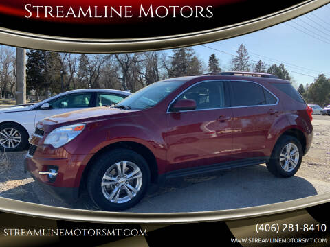 2010 Chevrolet Equinox for sale at Streamline Motors in Billings MT
