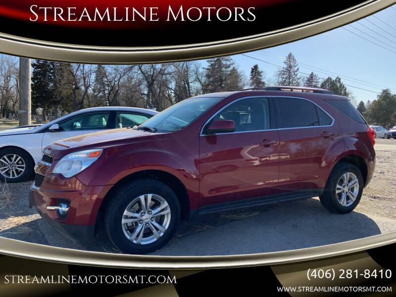 2010 Chevrolet Equinox for sale at Streamline Motors in Billings MT