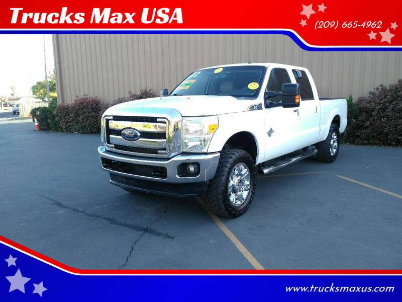 2012 Ford F-250 Super Duty for sale at Trucks Max USA in Manteca CA