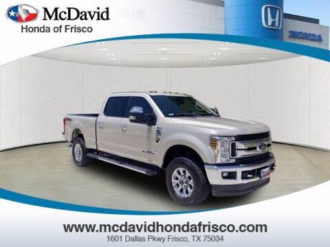 2018 Ford F-250 Super Duty for sale at DAVID McDAVID HONDA OF IRVING in Irving TX