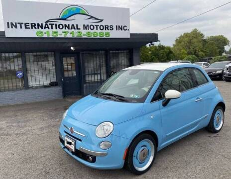 2014 FIAT 500 for sale at International Motors & Service INC in Nashville TN