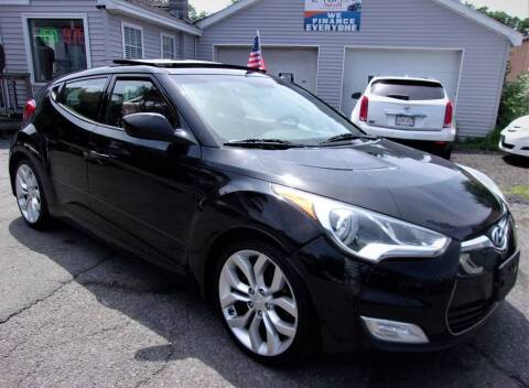 2012 Hyundai Veloster for sale at Top Line Import in Haverhill MA