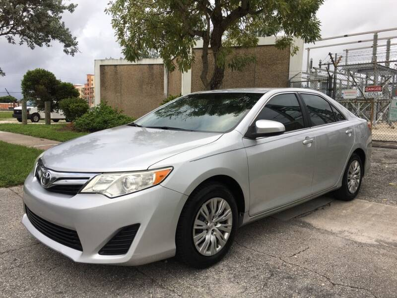 2014 Toyota Camry for sale at FIRST FLORIDA MOTOR SPORTS in Pompano Beach FL