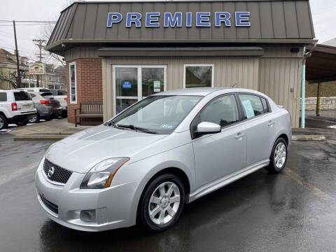2012 Nissan Sentra for sale at Premiere Auto Sales in Washington PA