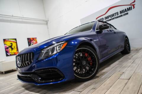 2019 Mercedes-Benz C-Class for sale at AUTO IMPORTS MIAMI in Fort Lauderdale FL