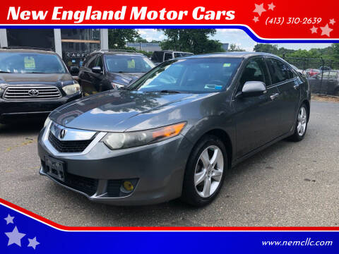 2009 Acura TSX for sale at New England Motor Cars in Springfield MA