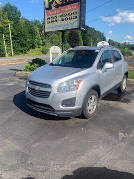 2015 Chevrolet Trax for sale at P & M AUTO in Springfield VT