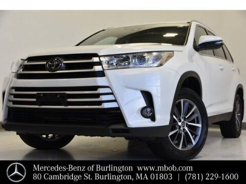 2019 Toyota Highlander for sale at Mercedes Benz of Burlington in Burlington MA
