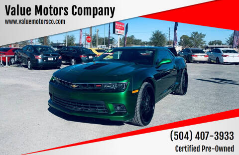 2014 Chevrolet Camaro for sale at Value Motors Company in Marrero LA