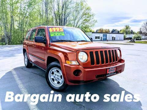 2010 Jeep Patriot for sale at Bargain Auto Sales LLC in Garden City ID