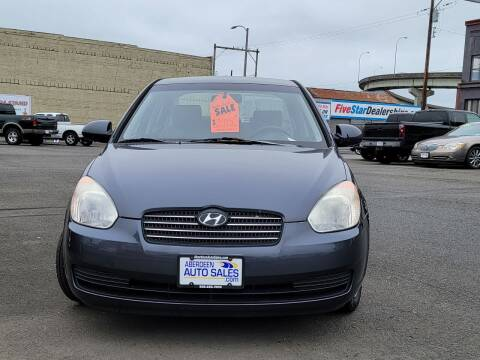2008 Hyundai Accent for sale at Aberdeen Auto Sales in Aberdeen WA