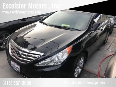 2011 Hyundai Sonata for sale at Excelsior Motors , Inc in San Francisco CA