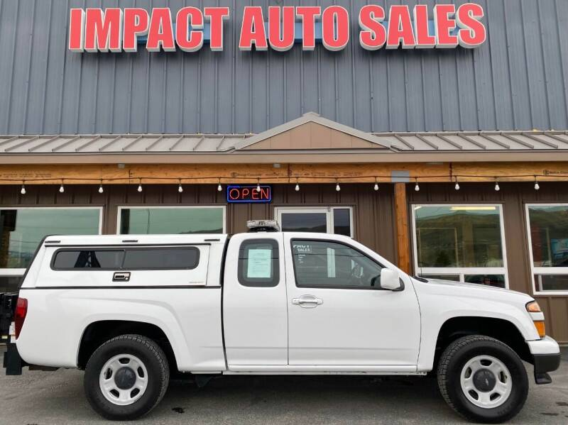 2012 Chevrolet Colorado for sale at Impact Auto Sales in Wenatchee WA