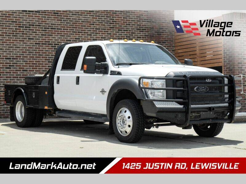 2016 Ford F-450 Super Duty for sale at Village Motors in Lewisville TX