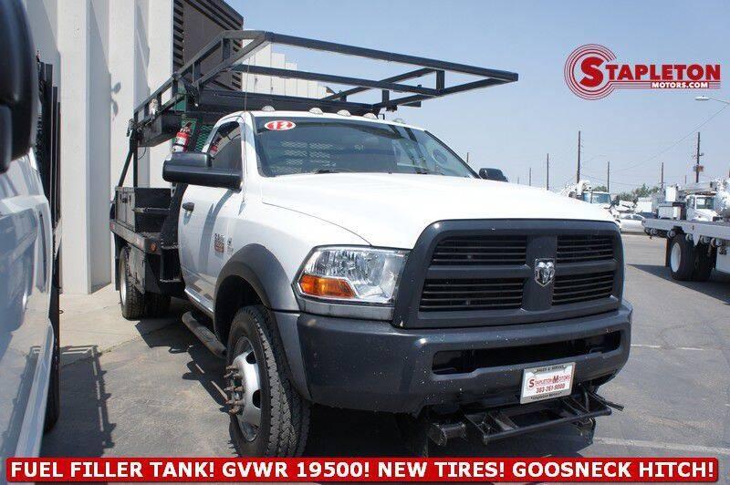 2012 RAM Ram Chassis 5500 for sale at STAPLETON MOTORS in Commerce City CO