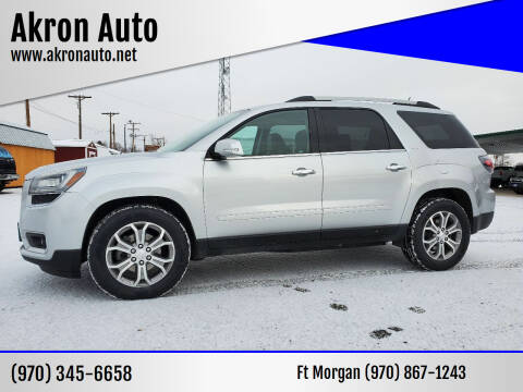 2013 GMC Acadia for sale at Akron Auto in Akron CO