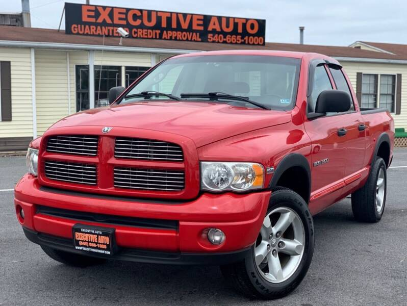 2005 Dodge Ram Pickup 1500 for sale at Executive Auto in Winchester VA