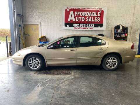 2001 Dodge Intrepid for sale at Affordable Auto Sales in Humphrey NE