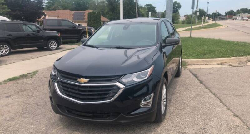 2021 Chevrolet Equinox for sale at One Price Auto in Mount Clemens MI