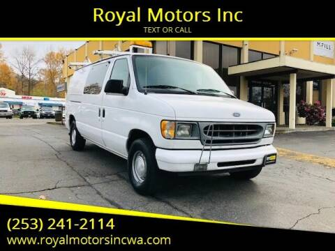 1999 Ford E-150 for sale at Royal Motors Inc in Kent WA