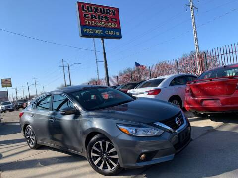 2017 Nissan Altima for sale at Dymix Used Autos & Luxury Cars Inc in Detroit MI