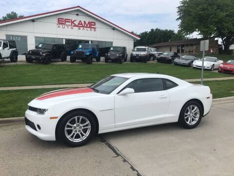 2015 Chevrolet Camaro for sale at Efkamp Auto Sales LLC in Des Moines IA