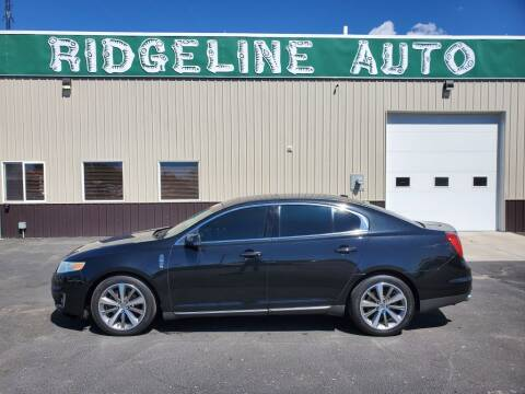 2009 Lincoln MKS for sale at RIDGELINE AUTO in Chubbuck ID