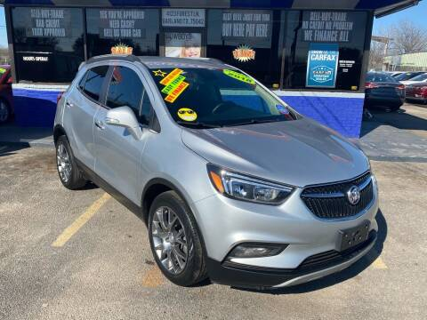 2018 Buick Encore for sale at Cow Boys Auto Sales LLC in Garland TX
