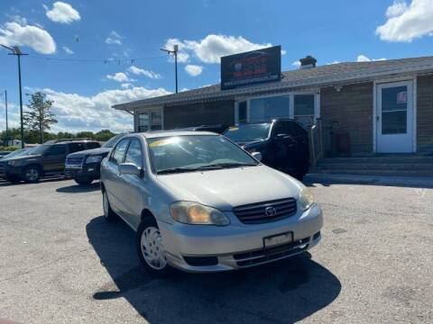 2003 Toyota Corolla for sale at I57 Group Auto Sales in Country Club Hills IL