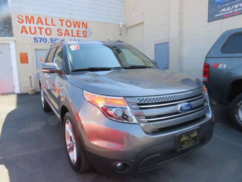 2011 Ford Explorer for sale at Small Town Auto Sales in Hazleton PA