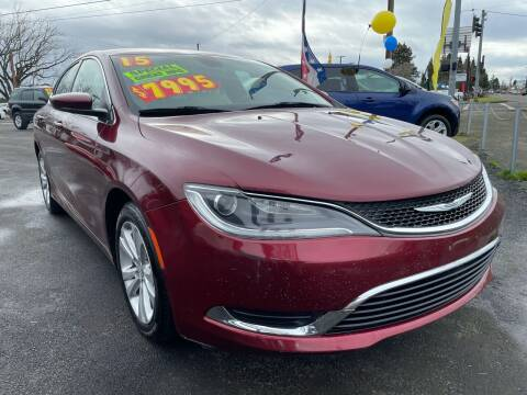 2015 Chrysler 200 for sale at Low Price Auto and Truck Sales, LLC in Brooks OR
