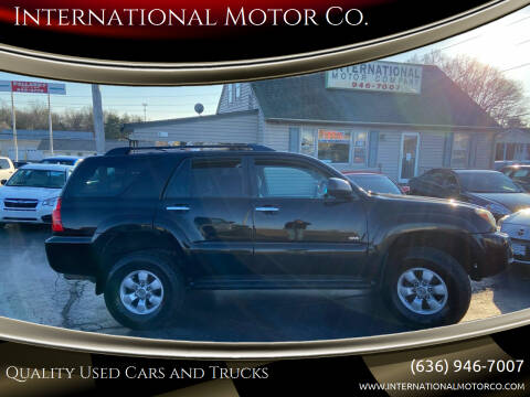 2006 Toyota 4Runner for sale at International Motor Co. in St. Charles MO