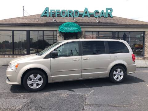 2013 Dodge Grand Caravan for sale at Afford-A-Car in Moraine OH
