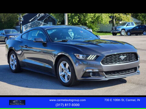 2015 Ford Mustang for sale at Carmel Auto Group in Indianapolis IN