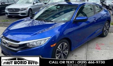 2016 Honda Civic for sale at First World Auto in Jamaica NY