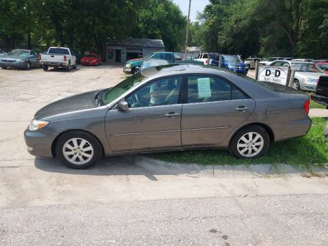 2003 Toyota Camry for sale at D & D Auto Sales in Topeka KS
