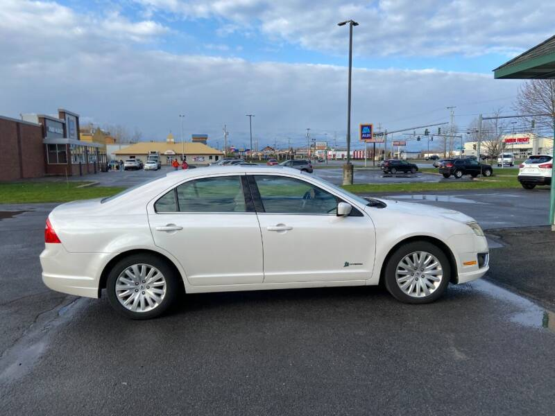 2012 Ford Fusion Hybrid for sale at Mark Regan Auto Sales in Oswego NY