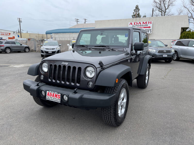 2014 Jeep Wrangler for sale at Adams Auto Sales in Sacramento CA