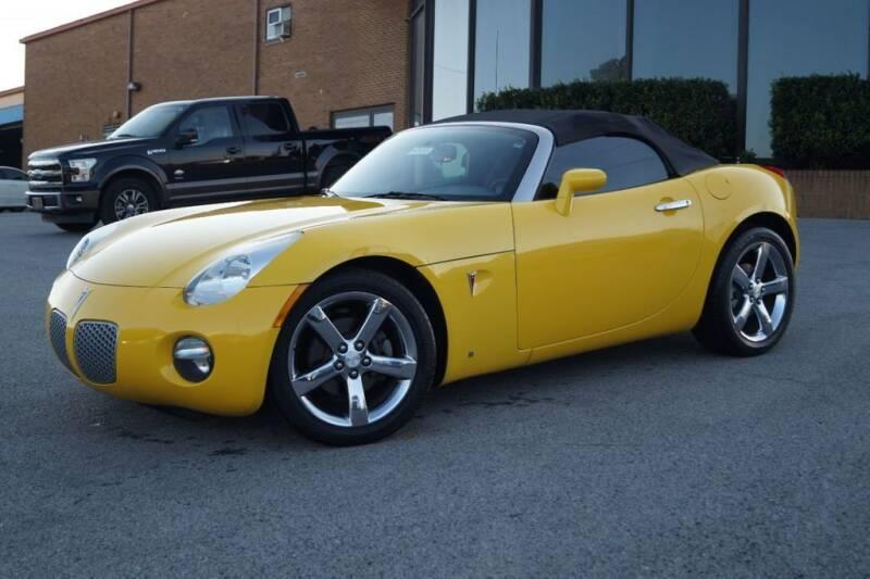 2007 Pontiac Solstice for sale at Next Ride Motors in Nashville TN