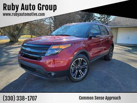 2013 Ford Explorer for sale at Ruby Auto Group in Hudson OH