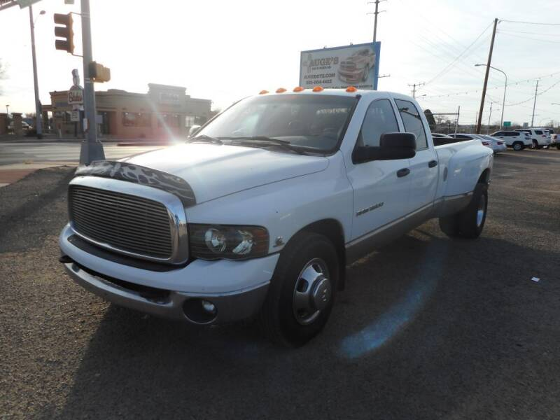 2003 Dodge Ram Pickup 3500 for sale at AUGE'S SALES AND SERVICE in Belen NM