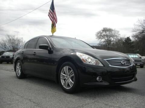 2010 Infiniti G37 Sedan for sale at Manquen Automotive in Simpsonville SC