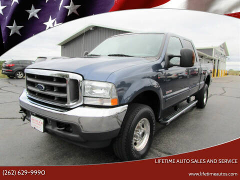 2004 Ford F-350 Super Duty for sale at Lifetime Auto Sales and Service in West Bend WI