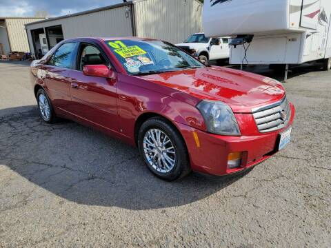 2007 Cadillac CTS for sale at Blue Lake Auto & RV Repair Inc in Fairview OR