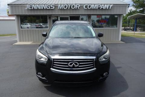 2014 Infiniti QX60 for sale at Jennings Motor Company in West Columbia SC