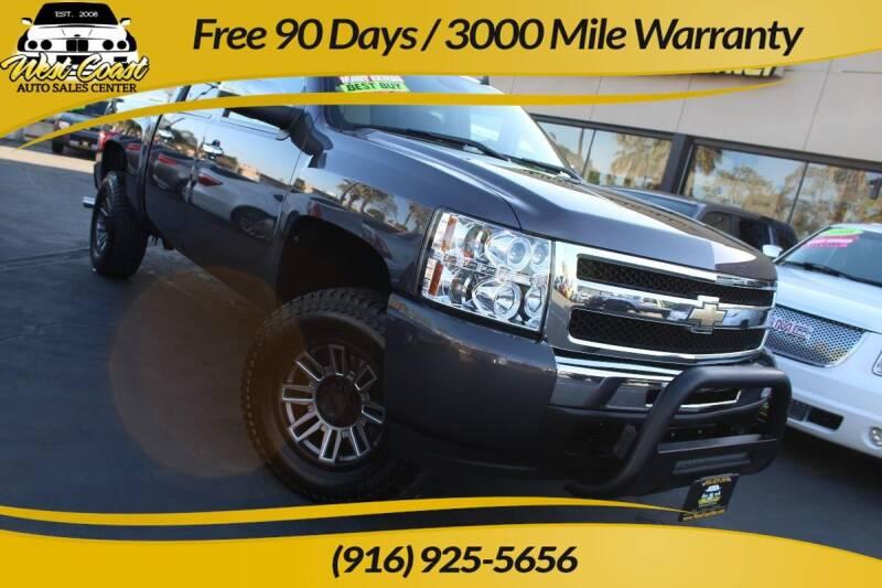 2010 Chevrolet Silverado 1500 for sale at West Coast Auto Sales Center in Sacramento CA