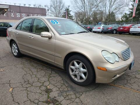 2003 Mercedes-Benz C-Class for sale at Universal Auto Sales in Salem OR