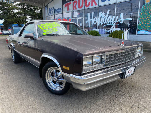 1986 Chevrolet El Camino for sale at Xtreme Truck Sales in Woodburn OR